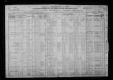 1920 Federal Census for Holmberg Family in Cleveland.